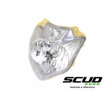 Farol Bloco Optico Fazer 250 2013 2014 2015 Scud 10210013