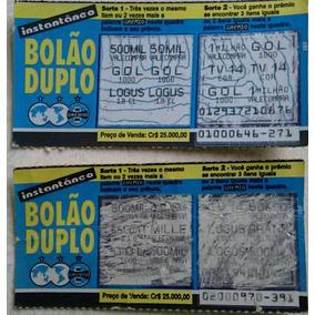 Raspadinhas Bolão Duplo Do Grêmio - Raridade