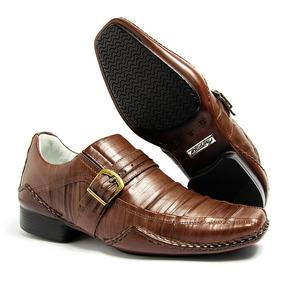 Sapato Social Masculino Couro Legitimo Marca Alcalay