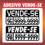 Adesivo Vende-se Vendo Carro Moto 2 Unidades - Frete Grátis
