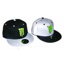 Gorra Plana Original Usa Monster 6 Pagos Sin Interes