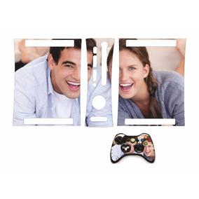 Adesivo Skin Xbox 360 Arcade Fat 1 Controle Personalize