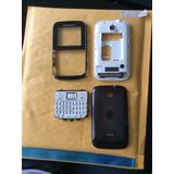 Carcaça Motorola Ex109 Ex108 Preto Original