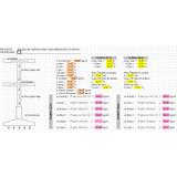 Analisis Estructural Para Casa Habitacion (hoja De Calculo)
