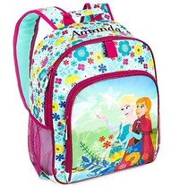 Disney Store - Set Frozen Backpack Y Lonchera - La Mas Nueva