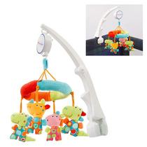Mobile Musical Berço Carrinho E Viagem Brinquedo Bebê