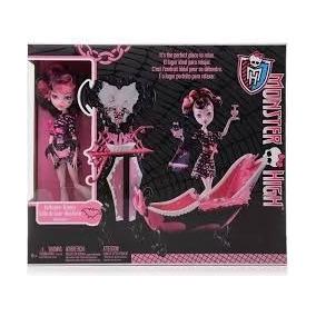Boneca Monster High Draculaura E Banheira Mattel - X4496