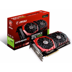 Placa De Vídeo Msi Gtx 1080 8gb Gaming X Ddr5 912-v336-001