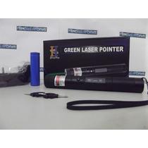 Super Caneta Laser Pointer Verde + Kit Estojo Completa 2017