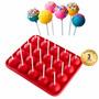 Molde De Silicona 20 Cakes Pop, Lolli Cake / Onlineclub