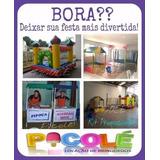 Piscina De Bolinhas, Cama Elasrica, Algodao Doce, Locacao
