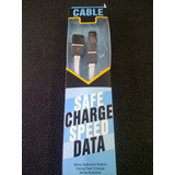 Cable Usb Carga Y Transferencia De Datos Iphone/android