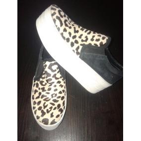 Panchas Zapatillas Zapatos Mujer Pelo Gamuza Legítimo Prüne