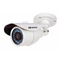 Câmera Bullet Analógica 800l 20mt Lente 3.6m Ip66 Gravo