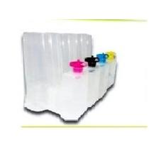 Sistema Continuo Para Epson 4 Colores Tanque L Vacio Sn Chip