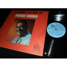 Lp Jorge Veiga - Os Grandes Sucessos - Disco Lar/1970