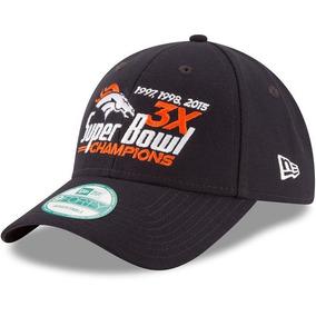 Nfl Denver Broncos Gorra Conmemorativa 3 Campeonatos Newera
