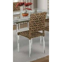 Cadeira Poltrona Manu Em Alumínio E Fibra Sintética