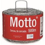 Arame Farpado Motto 500m