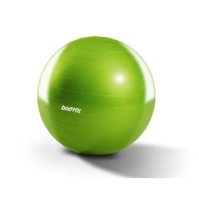 Pelota De Yoga Y Pilates 55 Cm Bodyfit Verde Con Bomba