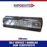 Self Service 7 Bandejas S&m 1530x370x370