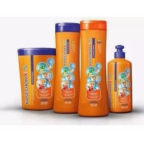 Kit Kanechom Kids, Shampoo, Condicionador, Creme E Máscara