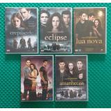Dvd A Saga Crepúsculo - 5 Filmes - Coleção Completa
