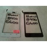 Tactil Huawei G600 8950 Negro Blanco