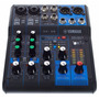 Yamaha Mg06x Consola Mixer Sonido 6 Canales Con Efectos
