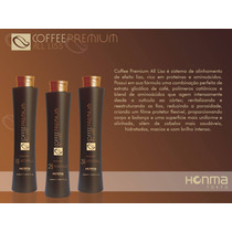 Kit Escova Progressiva Honma Tokyo Coffee Premium 3 Passos