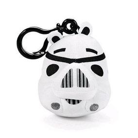 Chaveiro De Pelúcia Storm Trooper Angry Birds Star Wars Dtc