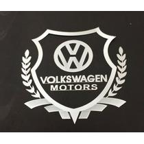 Emblema Vw Racing Volkswagen - Fusca Gol Golf Jetta