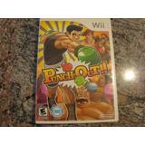 Jogo Wii Original Punch Out Excelente Estado , Frete Gratis