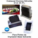 Cabezal Para Plotter Impresión Konica Minolta De 512 /35 Pl
