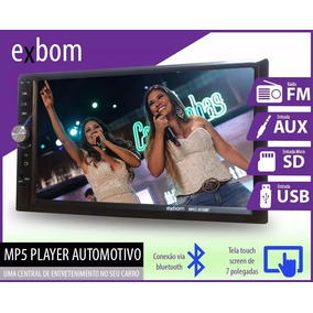 Central Multimidia Mp5 2 Din Tela 7 Touch Bluetooth Usb 2din
