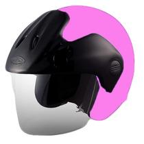 Casco Moto Abierto Cid Aero 3 Color Rosa Consulte Talle