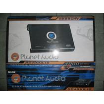 Planet Audio Anarchy 4000 Whatts Monoblock Control De Bajos