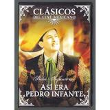 Dvd Clasico Mexicano Asi Era Pedro Infante Coleccion De Oro