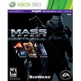 Mass Effect Trilogy Para Xbox 360 Nuevo Y Sellado Videojuego
