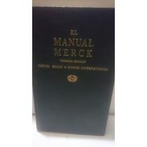 El Manual Merck Tercera Edición