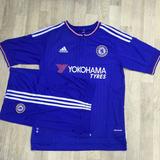 Camisa Shorts Chelsea Azul