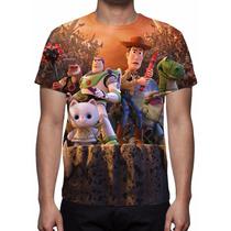 Camisa, Camiseta Disney Toy Story Mod 02 - Estampa Total