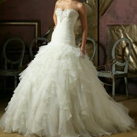 Vestido De Novia De La Diseñadora Morí Lee,es 4965 Original