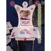 Tocador Infantil Campanita Princesas Kitty Barbi Pepa