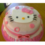 Torta Decorada Kitty Kg