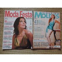 Kit 2 Revistas Moda Festa E Figurino Moldes