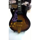 Guitarra Semi Acústica Miniatura Perfeito Presente