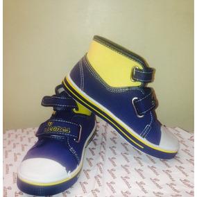 Zapatos Jump Leones Del Caracas 100% Originales Talla 32