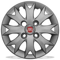 Jogo De Calotas Aro 13 Mod Fiat Palio Fire 2014 Uno Siena V