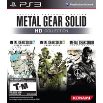 Metal Gear Solid Hd Collection (nuevo Sellado) - Ps3